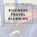 business travel planning