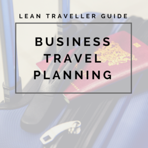 business travel planner