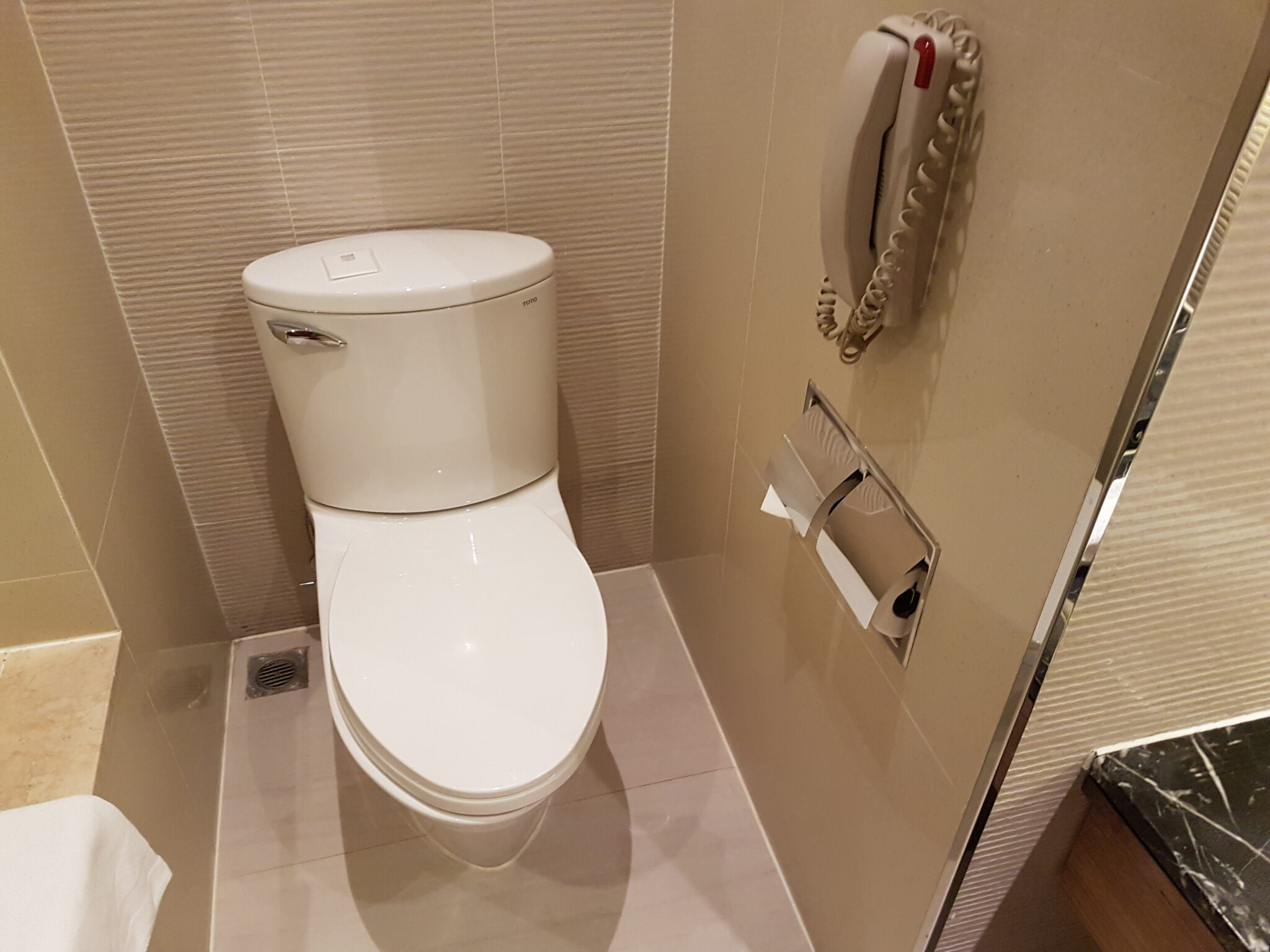 Chinese culture - european style toilet