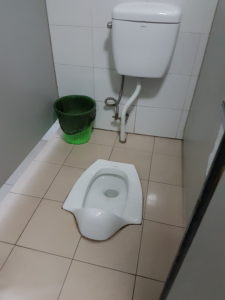 Chinese culture - squating toilets