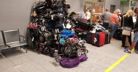 Business travel tips to reduce 7 types of waste.