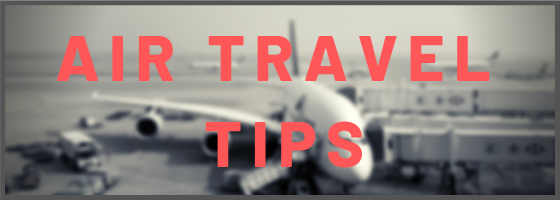 Air Travel Tips Category