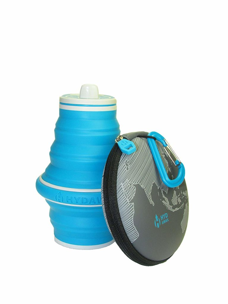 best gifts for travelers - Hydaway collapsible bottle