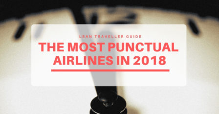 The Most Punctual Airlines in 2018