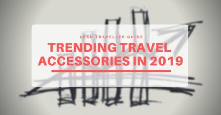 Trending Travel Accessories