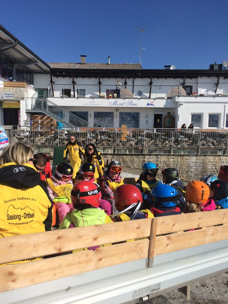 Best Place to Ski With Kids - Ski School Saslong