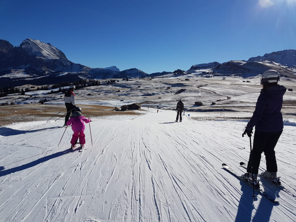 Best Place to Ski With Kids - way to Paradiso
