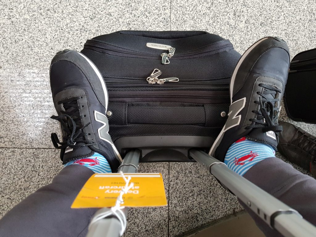 Business Travel Hacks - wear comfy shoes