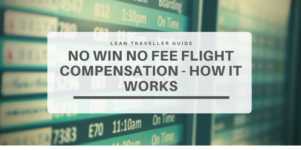 No Win No Fee Flight Compensation - featured image