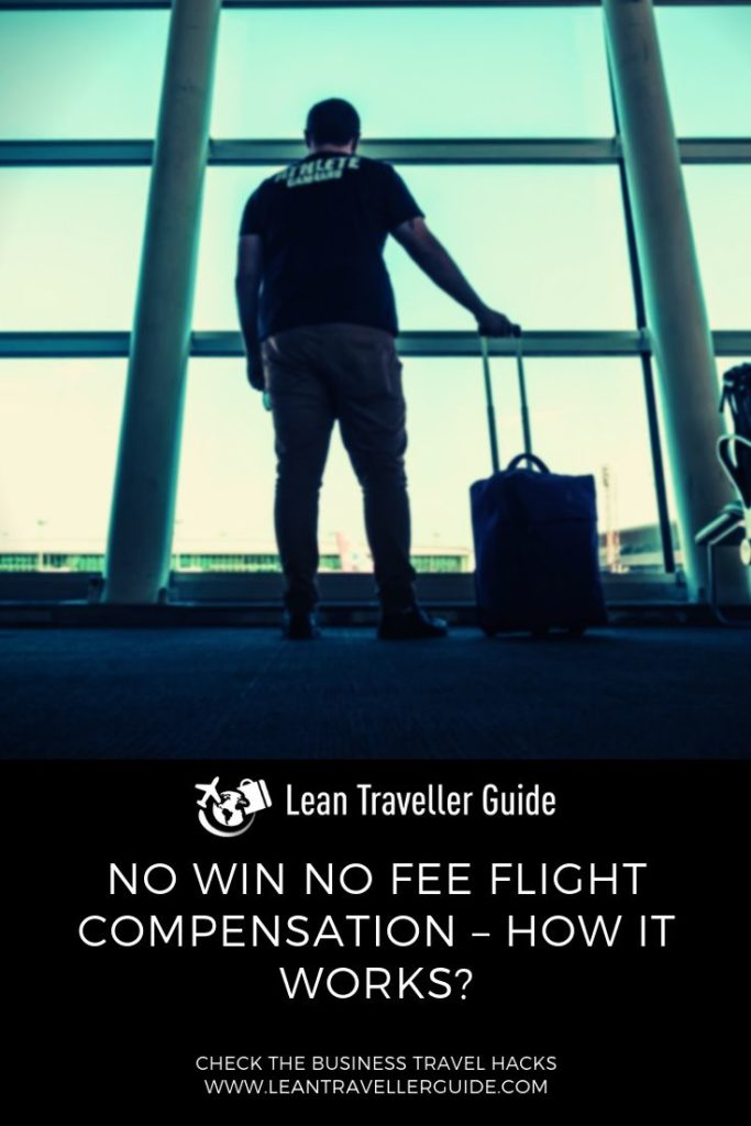 No Win No Fee Flight Compensation – How it Works (Pinterest)