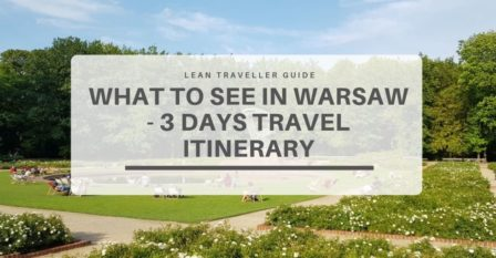 What to See in Warsaw - 3 Days Travel Itinerary Featured Image