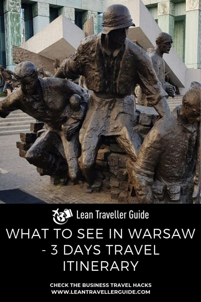 What to See in Warsaw - 3 Days Travel Itinerary - Pintrest