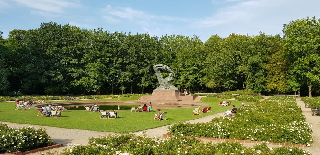 What to See in Warsaw - The Fryderyk Chopin Monument
