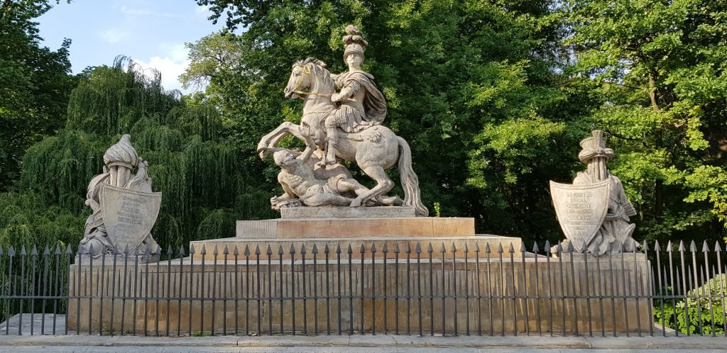 What to See in Warsaw - The Statue of Jan III Sobieski