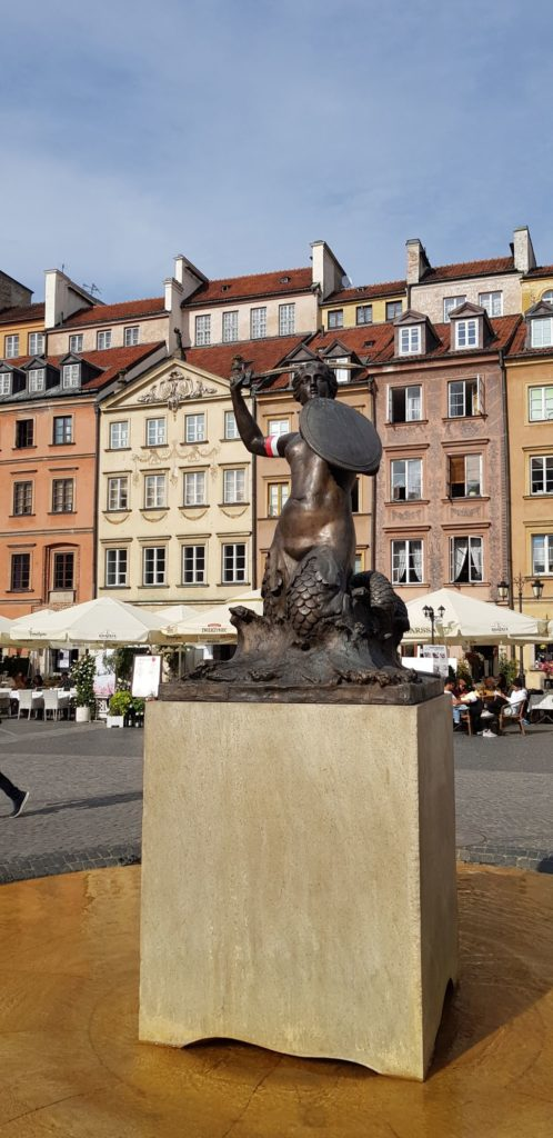 What to See in Warsaw - Warsaw Mermaid Statue