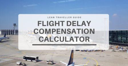 Flight Delay Compensation Calculator
