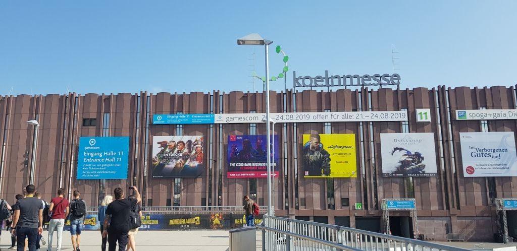 Gamescom in Koelnmesse