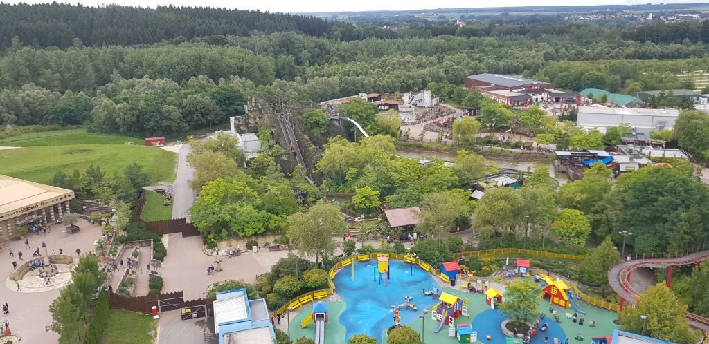 Legoland Deutschland from above
