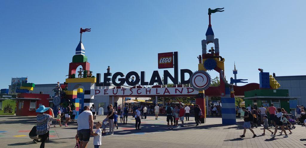 Legoland Deutschland main gate
