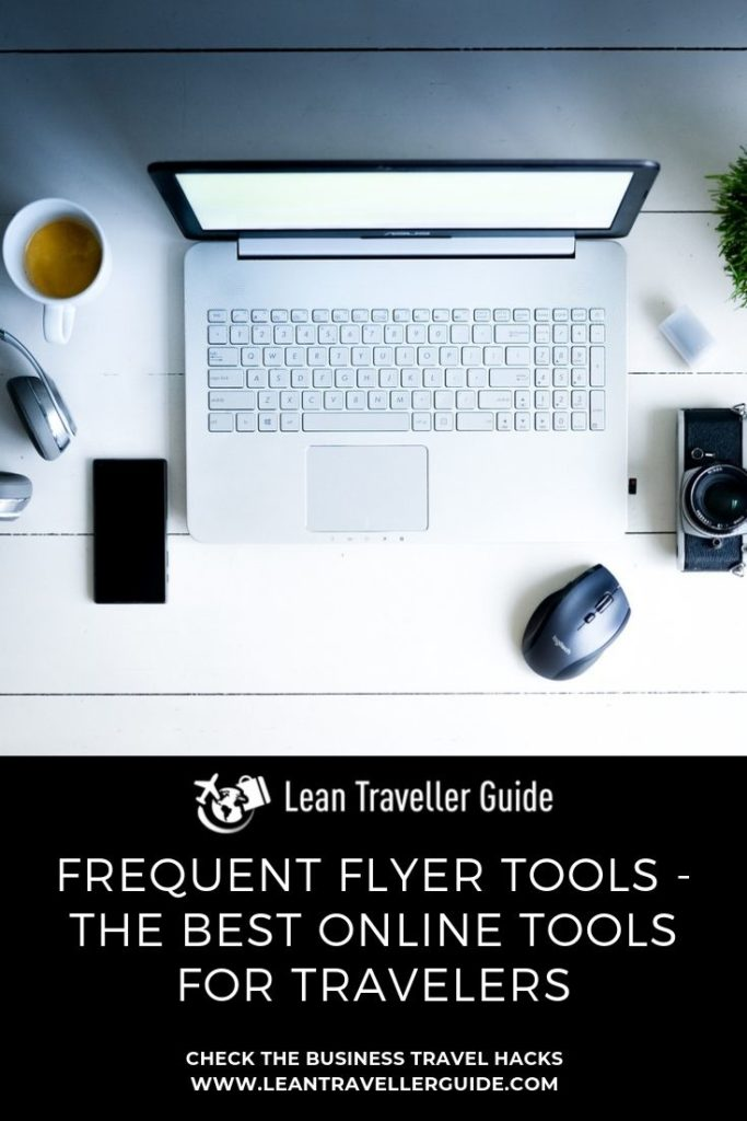 Frequent Flyer Tools - Pinterest