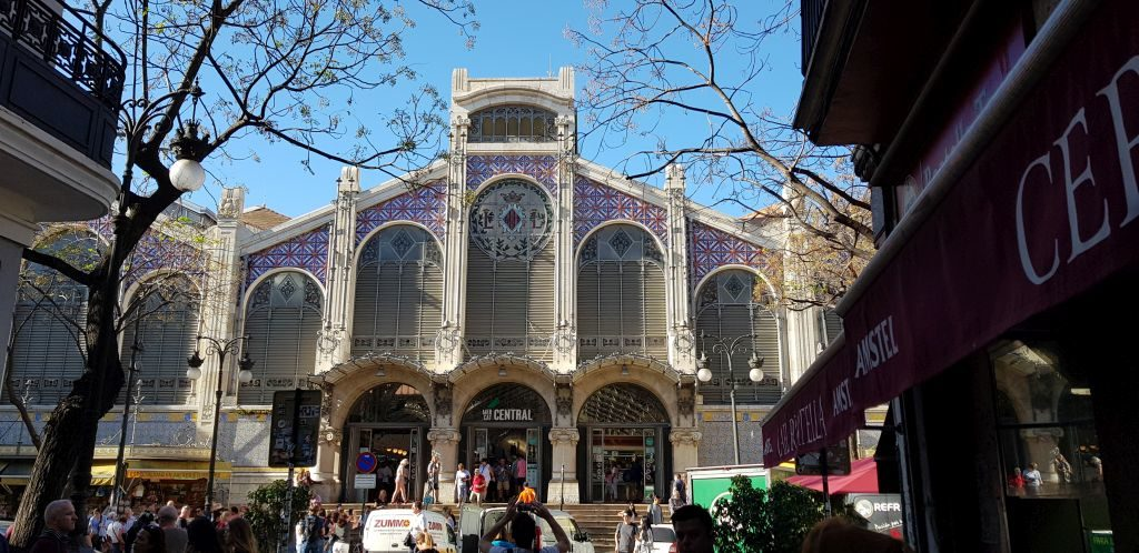 The Central Market of Valencia - Mercat. It's a must-see place for those who stay for 5 days in Valencia