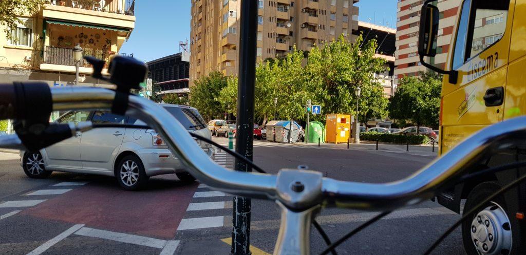 Destination - Valencia's beach.