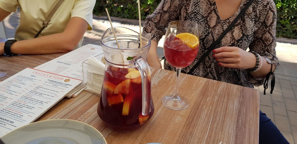 Sangria - a popular drink in Spain, best for hot and sunny days