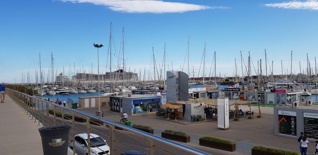 Marina at Valencia Port