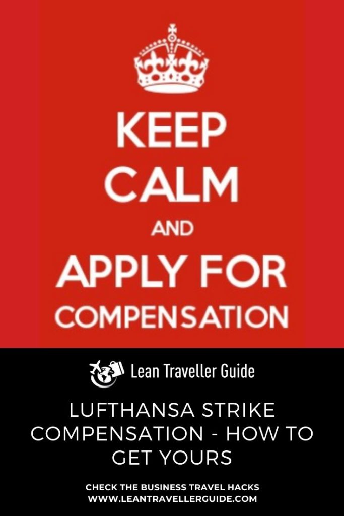 Lufthansa Strike Compensation - Pinterest