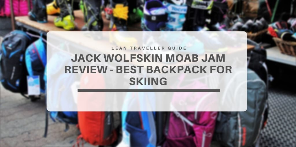 Jack Wolfskin Moab Jam Review Best Backpack for Skiing