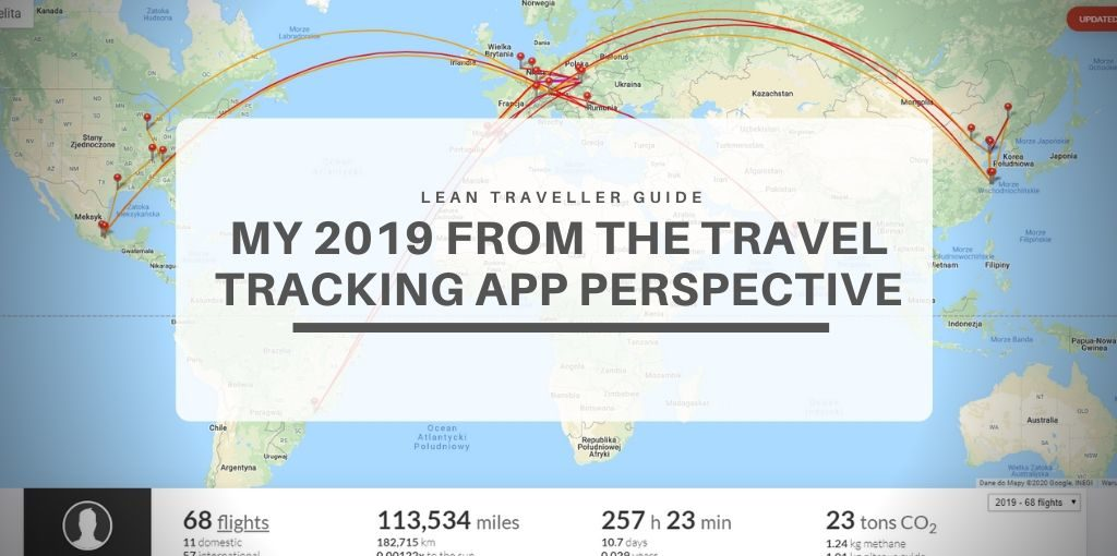 My 2019 From the Travel Tracking App Perspective Featured Image